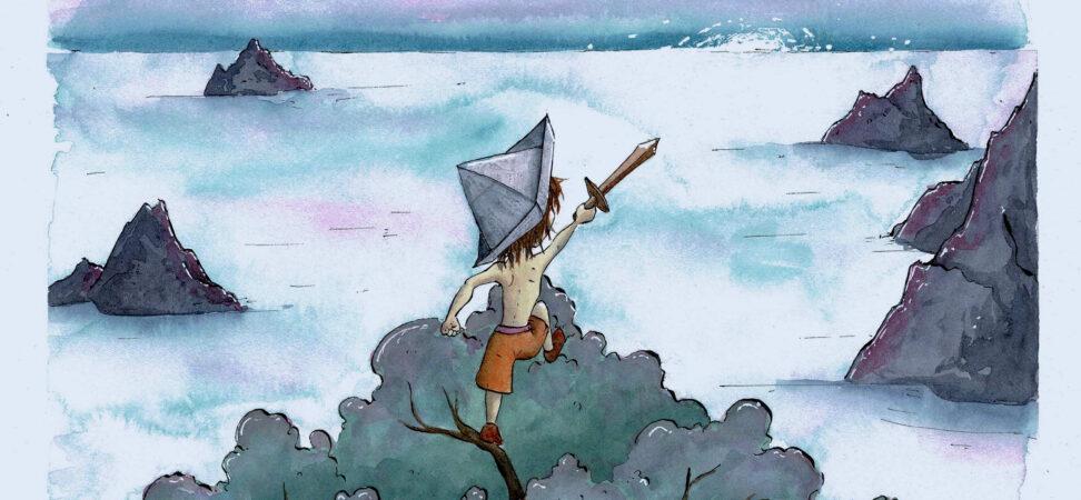 illustration pirate enfant